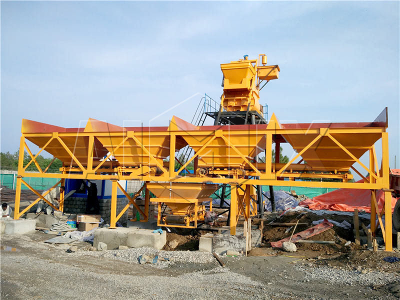 AJ35 Concrete Mixing Plant in Kenya