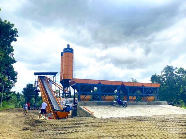 AJ60 Stationary Concrete Batching Plant