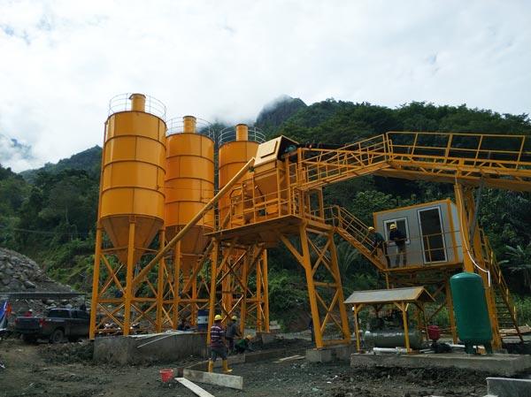 AJ90 Stationary Concrete Batch Plant