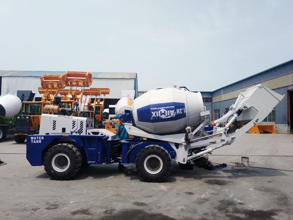 AS-1.2 Self Loader Cement Mixer