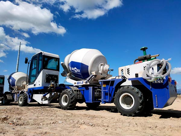 AS-1.8 Self loader Concrete Mixers in Kenya