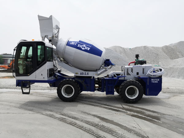 AS-2.6 Self Loading Concrete Mixer Sale