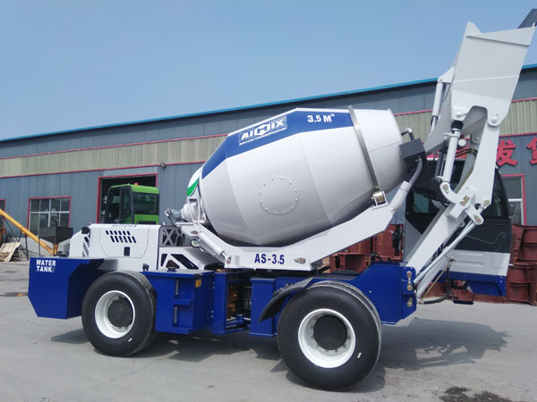 AS-3.5 Selfloading Concrete Mixers in Kenya