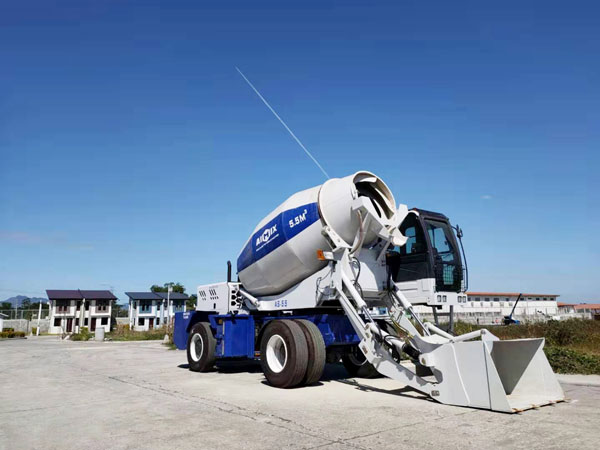 AS-5.5 Self Loading Concrete Mixers in Kenya