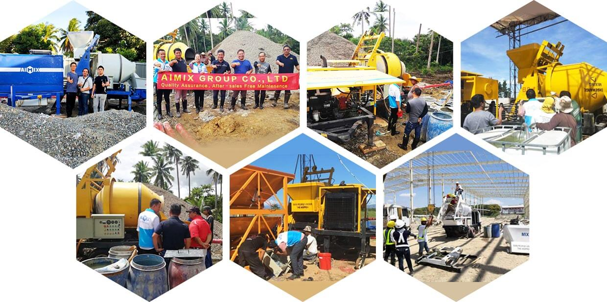 After-Sales Service - AIMIX Group Concrete Pump Machine