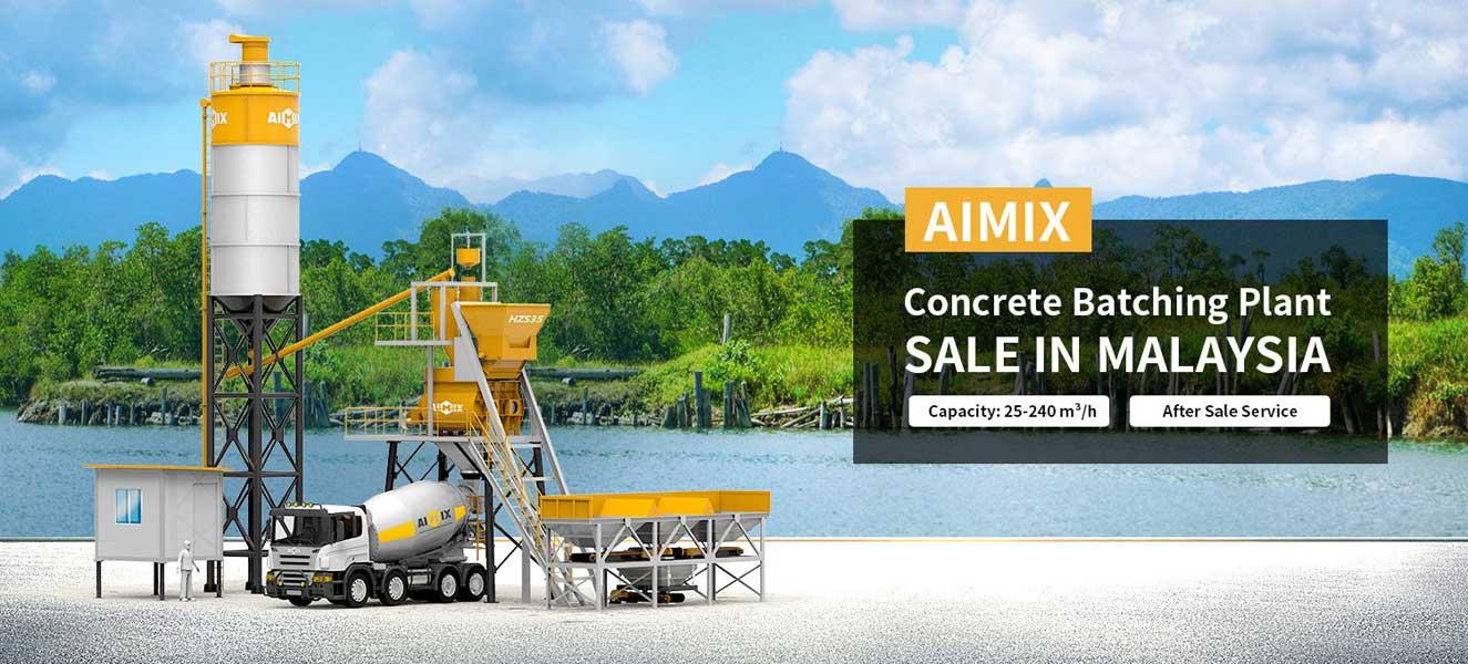 Aimix Concrete Batching Plant Malaysia