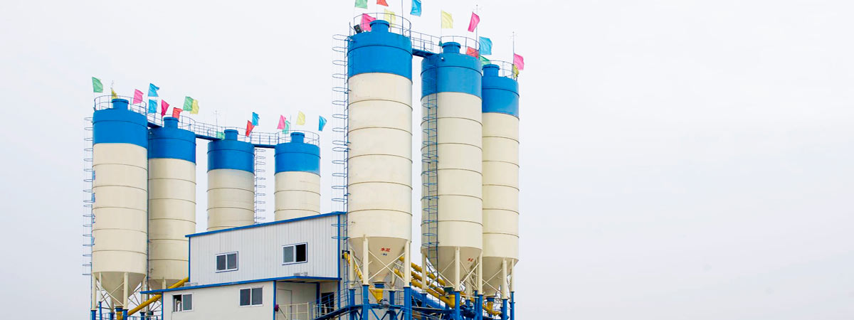 Cement Silo of Stationary Concrete Plant