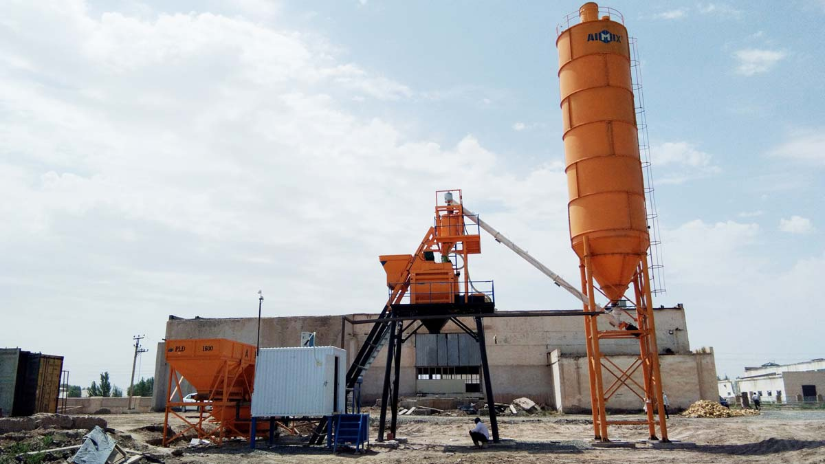 Concrete Batch Plant for Sale in Kenya