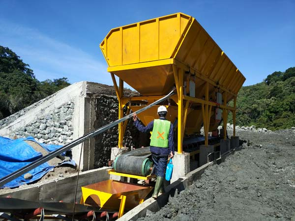 Concrete Batching Machine Deciding Capacity