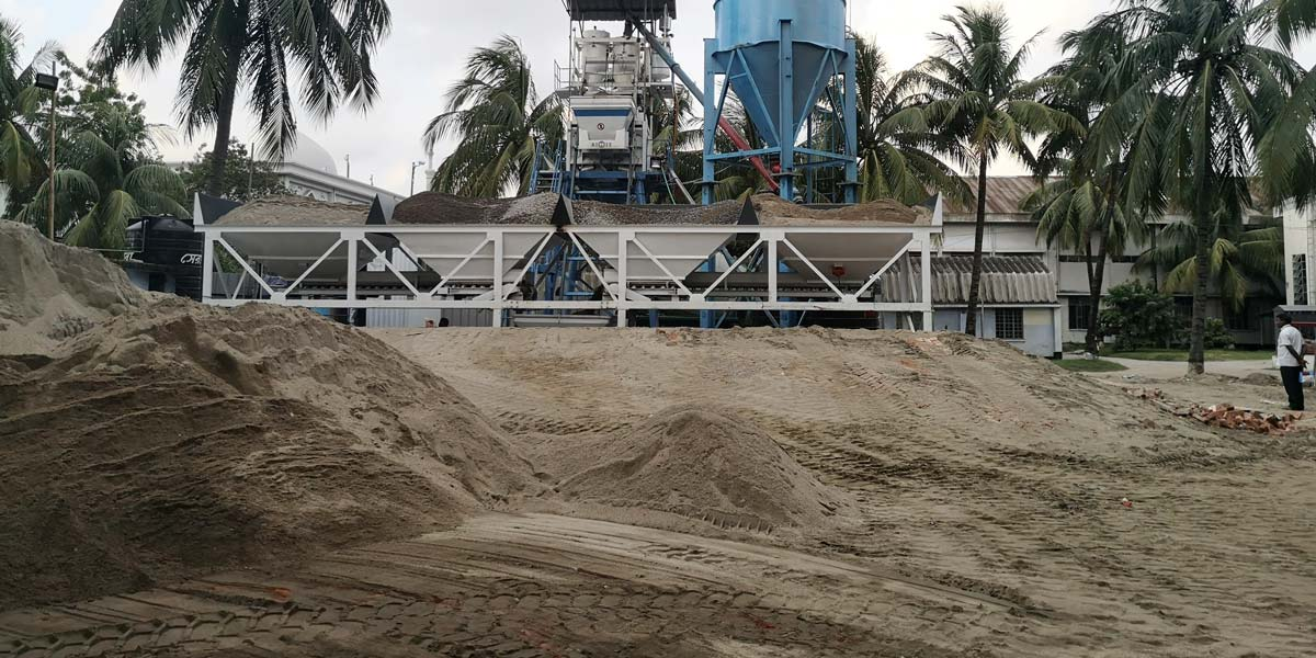 Concrete Batching Machine from Aimix