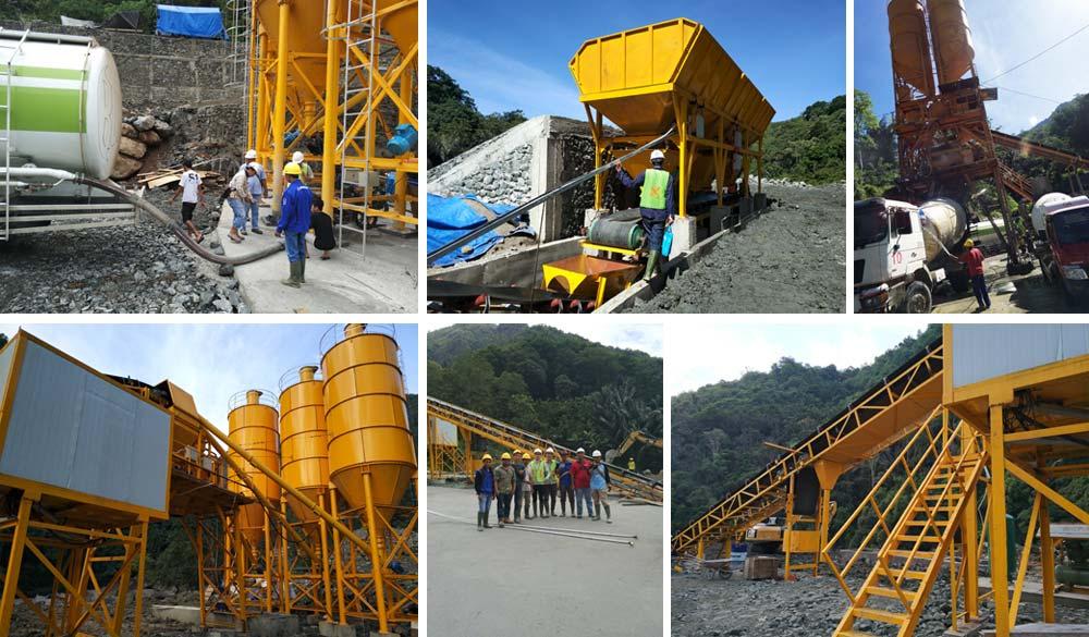 Debugging Stationary Concrete Batching Plant in Johor Bahru , Malaysia