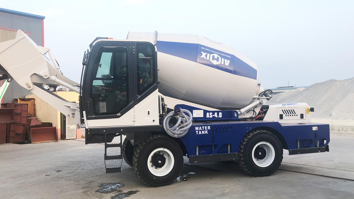 Diesel Concrete Mixer in Kenya