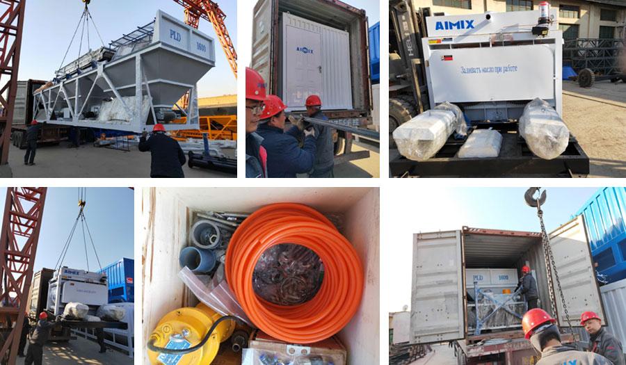 Exporting Concrete Plant to Tajikistan
