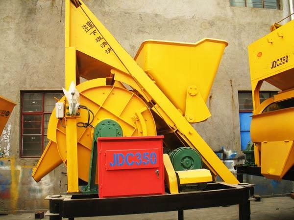 JDC350 Single Shaft Concrete Mixer
