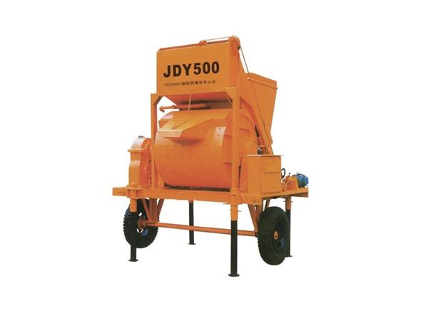JDY500 Single Shaft Concrete Mixer
