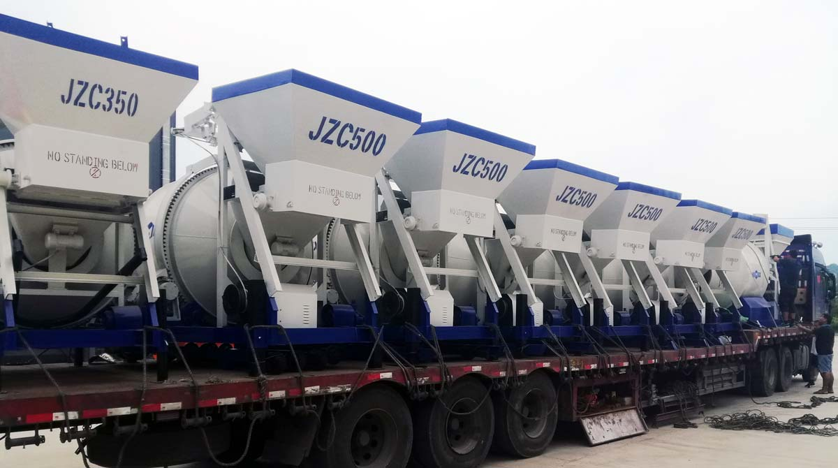 JZC series Drum Concrete Mixer