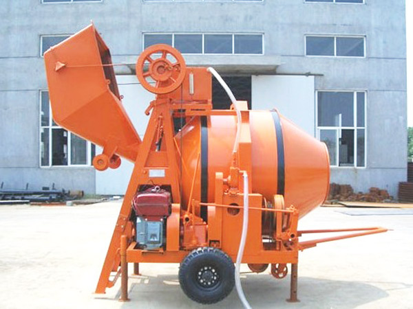 JZR350B Diesel Engine Concrete Mixer