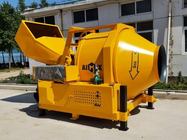 JZR500 Concrete Mixer with Diesel Engine