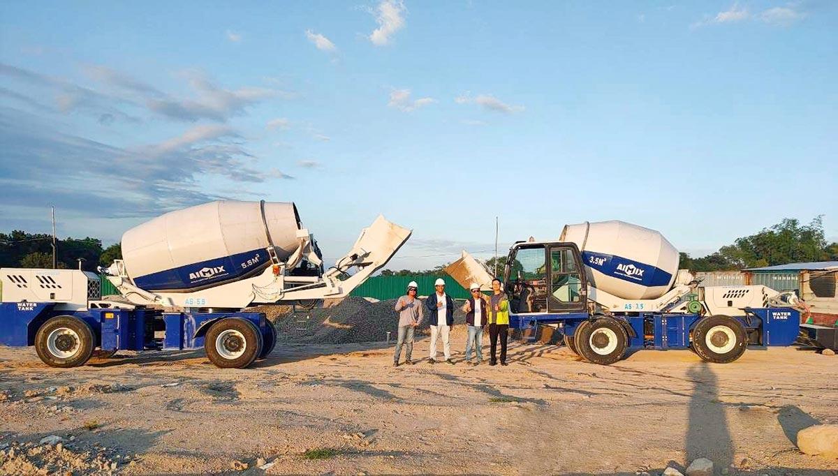 Self Loading Mobile Concrete Mixer Kenya