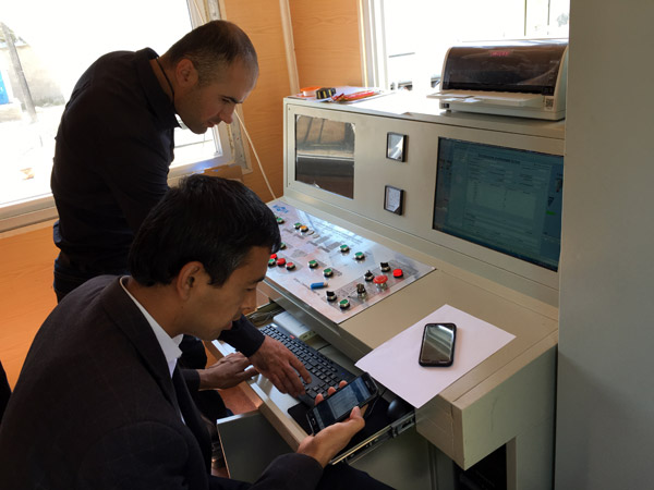 Testing Electric Control System