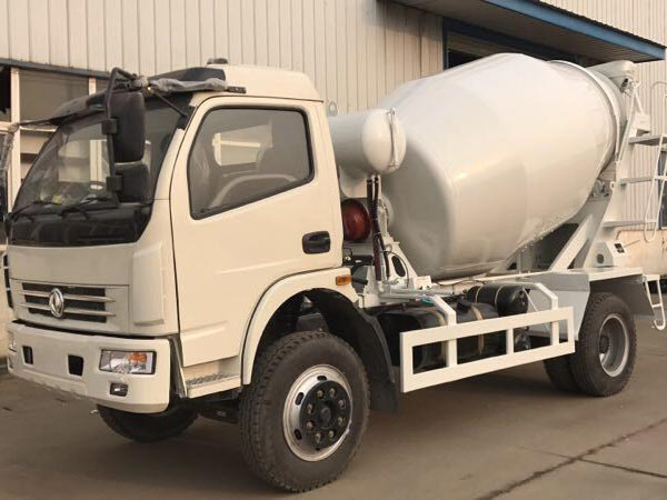 3m3 Small Concrete Mixer Truck