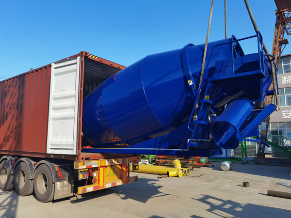 8m3 Concrete Drum Mixer Was Exported to Malaysia