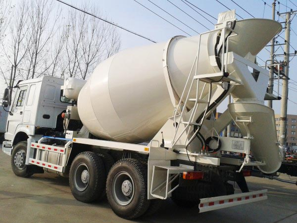 9m3 Truck Mounted Mixer