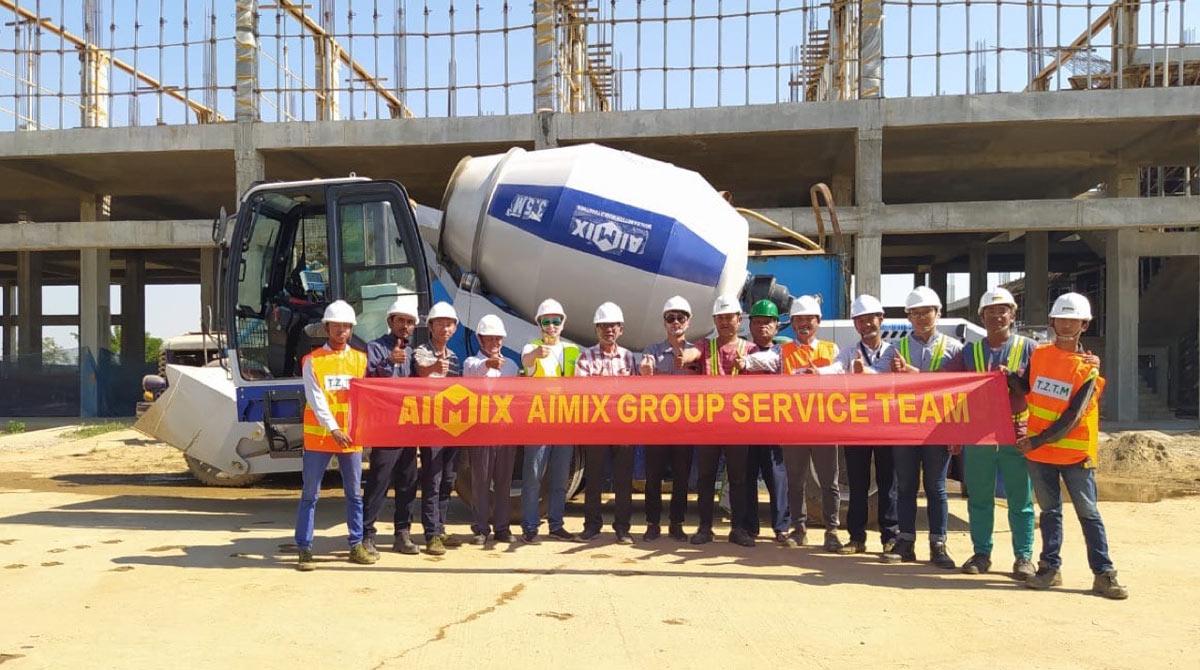 AIMIX After-sales Maintenance Team