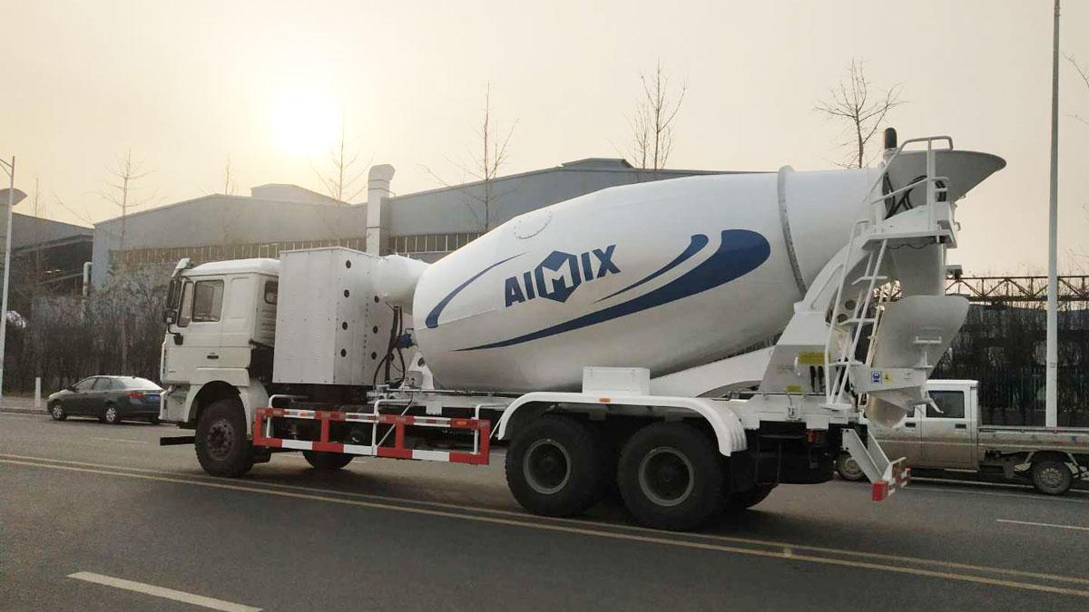 AIMIX Concrete Transit Mixer For Sale