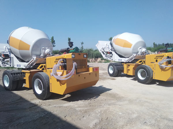 AIMIX Group Self Loader Concrete Mixer in South Africa