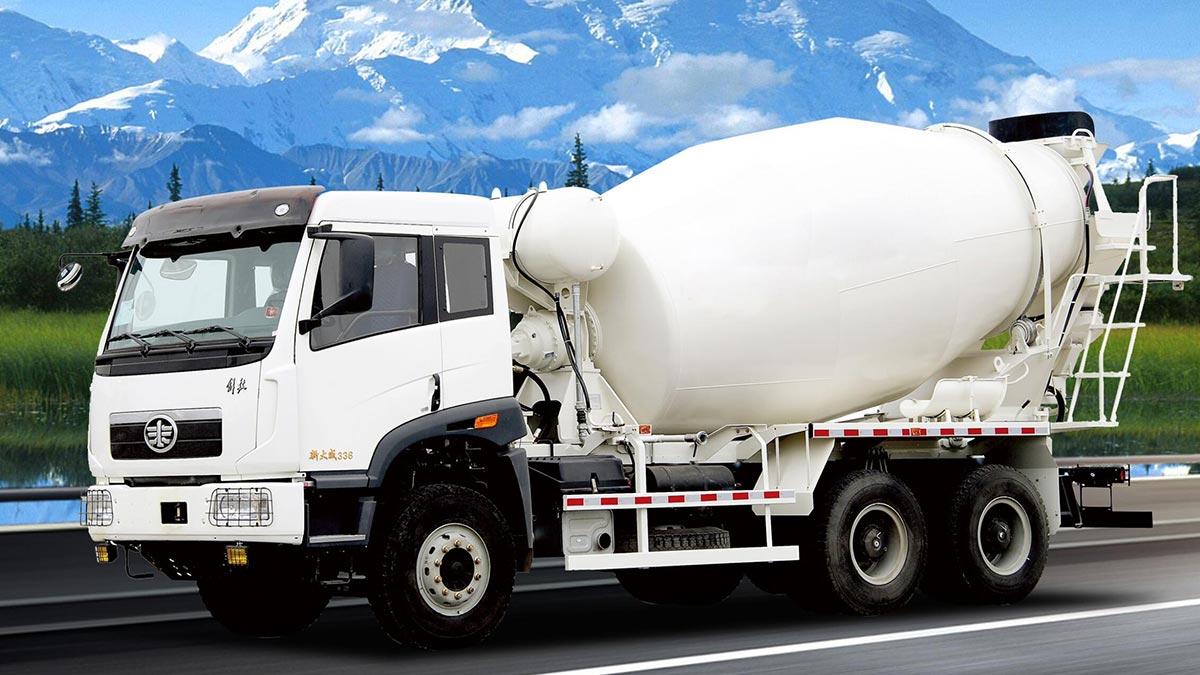 AIMIX Mobile Concrete Mixer Truck