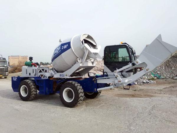 AS-2.6 Self Loading Concrete Mixer for Sale Kenya