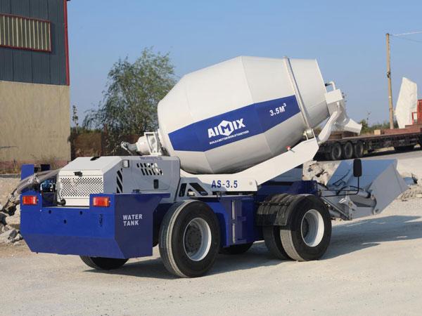 AS-3.5 Selfloader Concrete Mixer
