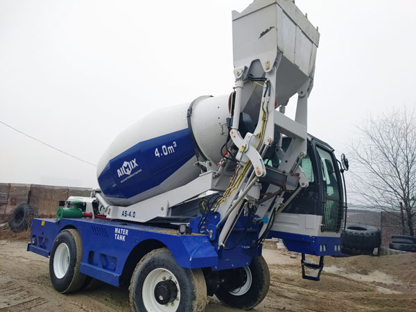 AS-4.0 Self Mixing Concrete Truck
