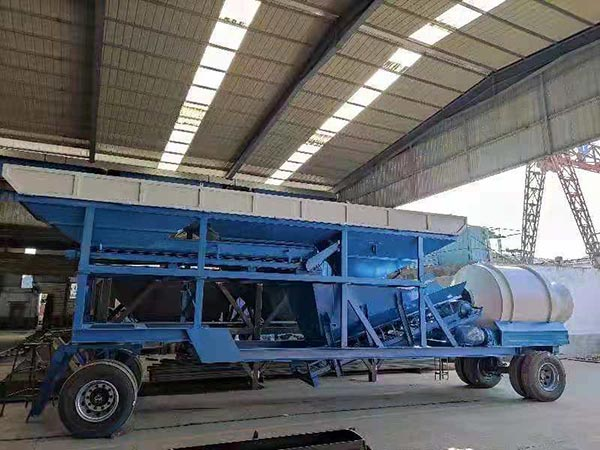 Drum Type Concrete Plant
