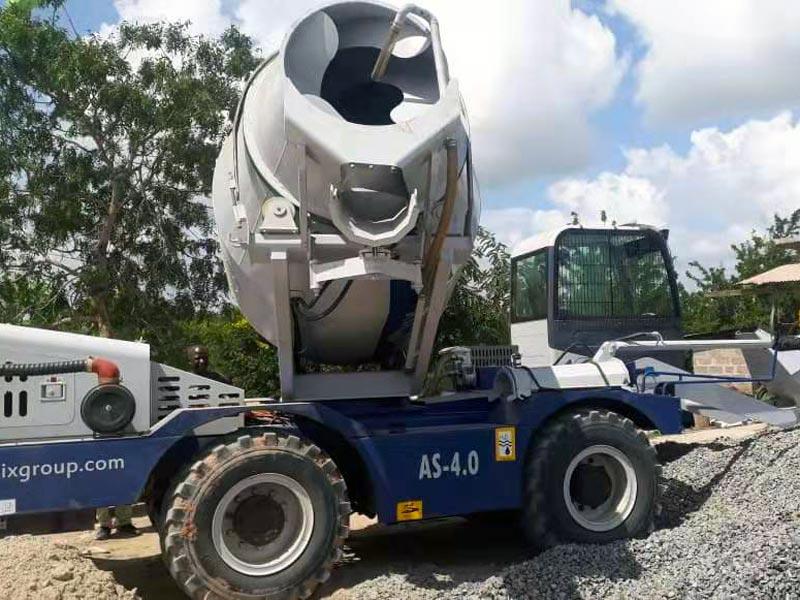 Self load mixer in Tanzania