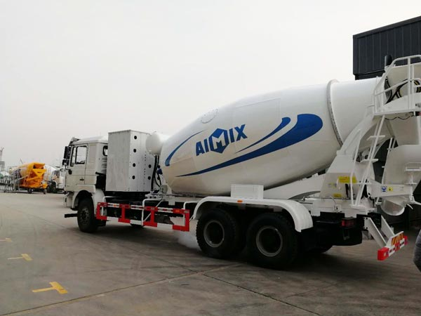 large concrete mixing truck for sale