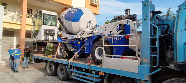 AIMIX Self Loading Mixer Arriving in Philippines