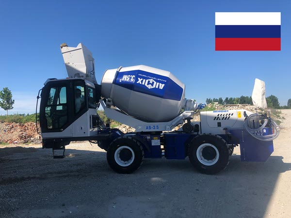 AS-3.5 Self Loading Mixer to Russia