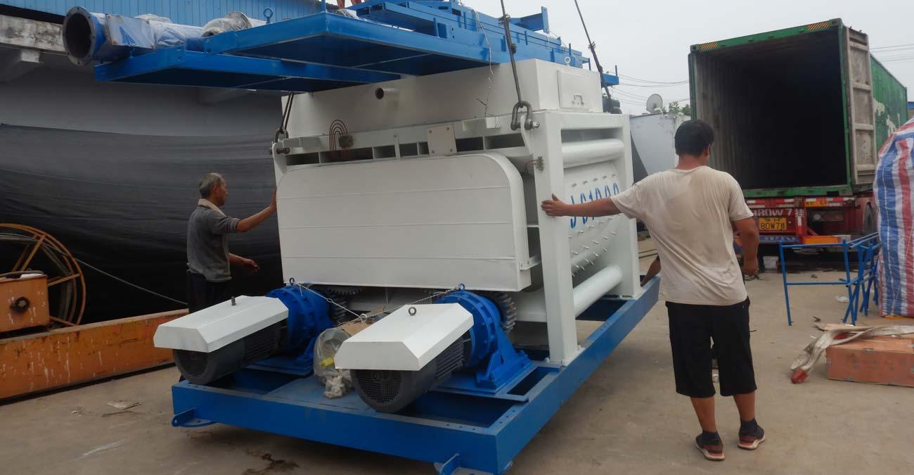 AJ50 Concrete Batching Plant Was Sent to Uzbekistan