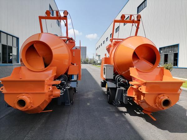 Aimix concrete mixer pumps Was Ready to Nepal