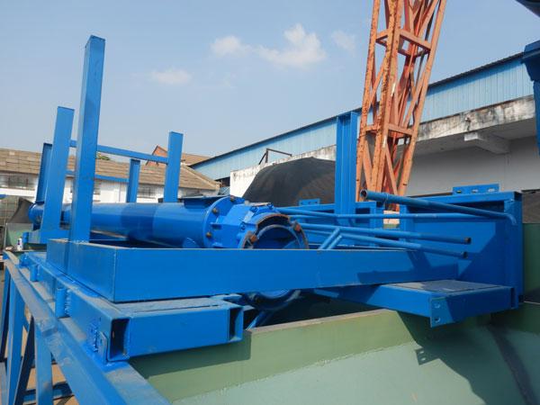 AJ25 Concrete Plant Transporting