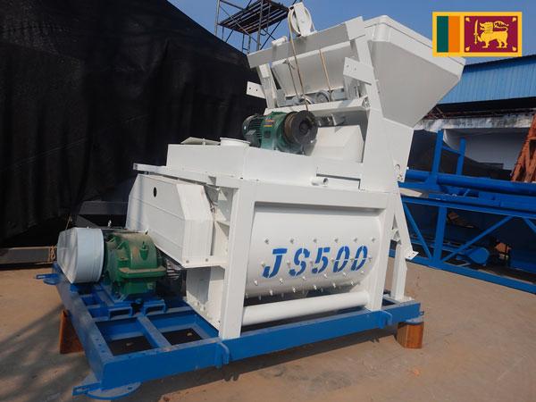 Exporting AJ25 Concrete Plant to Sri Lanka